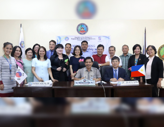 LSPU inks Partnership with KU, South Korea