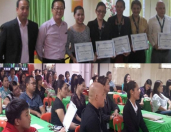 ENGLISH SKILLS TRAINING FOR TEACHERS CONDUCTED BY WED