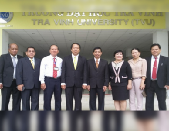 Official Business Trip of Dr. de Vera to Ho Chi Minh City Vietnam